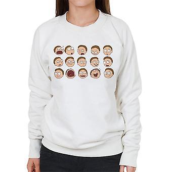 Rick ja Morty monet Morty Smithin naisten ilmaisut ' s pusero
