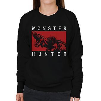 Monster Hunter Anjanath Roar Women's Sweatshirt