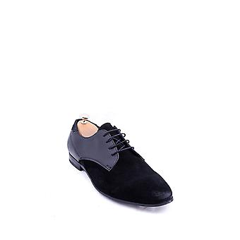 Black suede oxford shoes | wessi