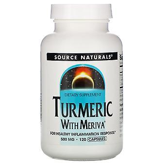 Source Naturals, Meriva Curcuma Complex, 500 mg, 120 Capsules