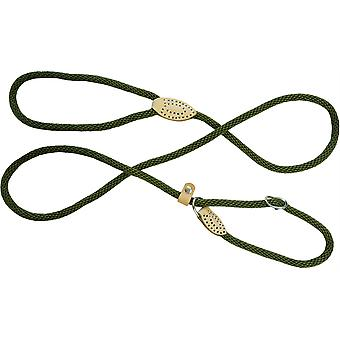 Dog & Co Supersoft Rope Slip Lood - Groen - 8mm x 60 inch