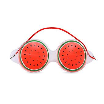 Fruit Ice Compress Eye Mask Relieve Fatigue Black Eye Bags Cute Novelty Charming Eye Mask Women Beauty Tool