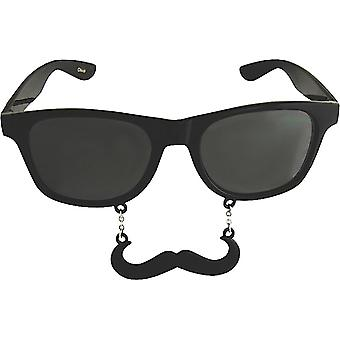 Party Costumes - Sun-Staches - Black Handlebar Toys Sunglasses SG843
