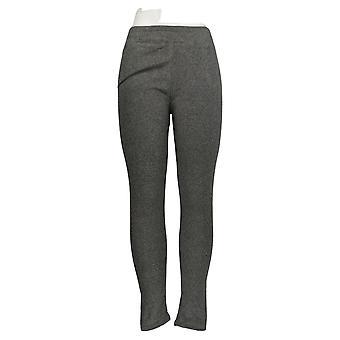 Cuddl Duds Leggings Fleecewear Stretch Gray A369295