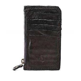 Campomaggi Leather Zip Card Holder