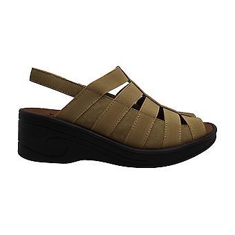 Helppo Street Naiset & kengät Floaty Kangas Peep Toe Rento Strappy Sandaalit