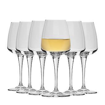 Bormioli Rocco Aurum White Wine Glasses Set - 350ml - Pack of 6