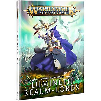 Atelier jeux - Warhammer Age of Sigmar - Battletome: Lumineth Realm-Lords