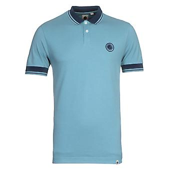 Bonita verde Joey Tipped Blue Polo Shirt