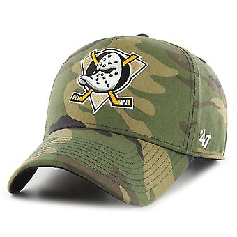47 Brand Adjustable Cap - GROVE Anaheim Ducks wood camo
