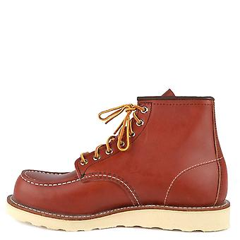 Red Wing 8131 Classic 6-inch Moc Toe Boots Oro Russet