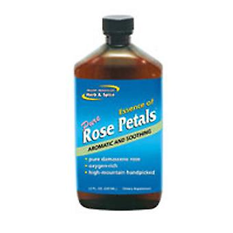 North American Herb & Spice Essence of Rose Petals, 12 OZ