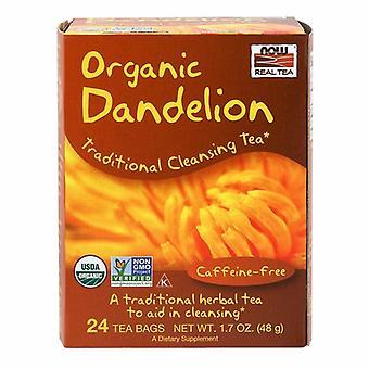 Now Foods Dandelion Cleansing Herbal Tea, 24 Bags