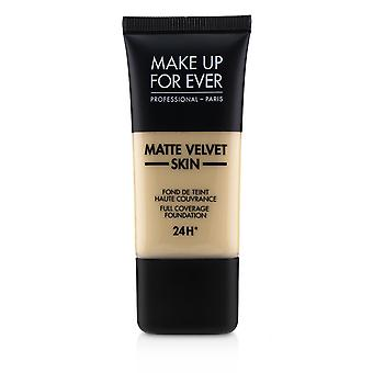 Matte velvet skin full coverage foundation # y235 (marfim bege) 238953 30ml/1oz