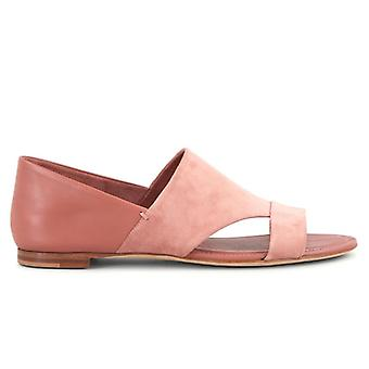 Tod's Pink Leather and Ante Sandal
