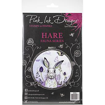 Pink Ink Designs A5 Clear Stamp Set-Hare