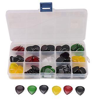 100 Pièces 3mm Épaisseur Guitar Picks Plectrums Pack 0.9x0.8inchfor Guitars