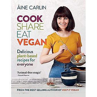 Cook andel spise vegansk