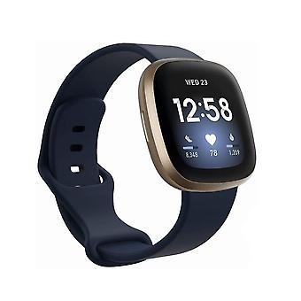 Armband Fitbit Sense / Versa 3 dunkelblau (S)