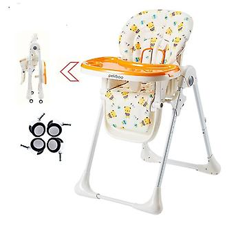 Baby Feeding High Chair-one Click Pliable