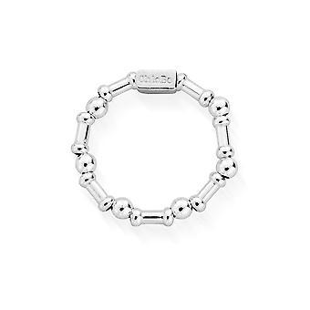 ChloBo SR3RHYTHM Women's Rhythm Of Water Ring (Large)