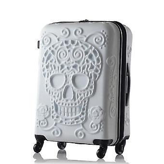 גלגל גלגל גלגל גלגל נסיעות מזוודה abs מזוודות עגלה Hardside