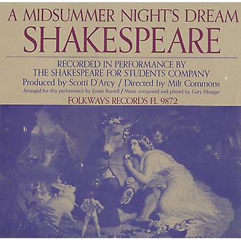 Shakespeare for Students Company - William Shakespeare: A Midsummer Night's Dream [CD] USA import