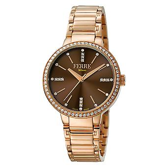 Ferre Milano FM1L084M0091 Women's MOP Dial Stainless Steel Watch