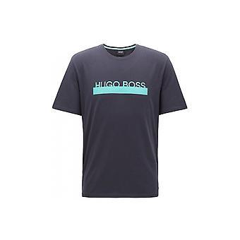 Hugo Boss Vapaa-ajan kuluminen Hugo Boss Miehet&s Open Blue Identity T-paita