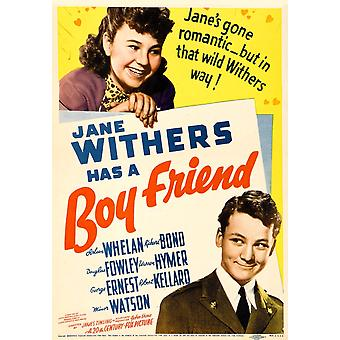 Boy Friend Top Jane Withers On Midget Window Card 1939 Tm And Copyright 20Th Century Fox Film Corp All Rights ReservedCourtesy Everett Collection Movie Poster Masterprint