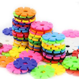 Building Blocks Snowflower Toy