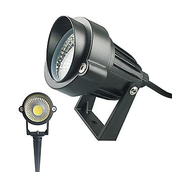 Led Cob Garden Lawn Lamp Outdoor Spike Light Waterproof Lighting Spotlights
