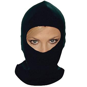 Fahrrad IT Motorrad Helm Thermal Black Cotton Balaclava
