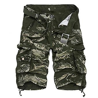 Cargo Men Summer Cotton Casual Men Short Pant Clothing