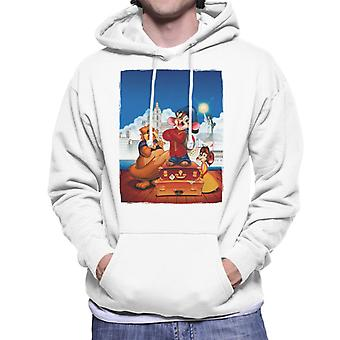 An American Tail Fievel Tanya And Tiger Men's Hooded Sweatshirt