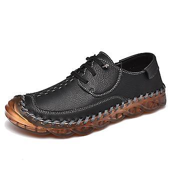 Zapatos Casual para Hombre Mocasines de Cuero 587 Negro