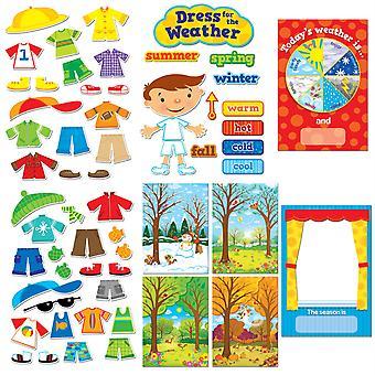 Kleid für das Wetter Bulletin Board Set