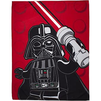 Lego Star Wars Space Darth Vader Blanket