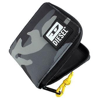 Diesel Bulero Zippy Hiresh S II Wallet - Grijze Camo
