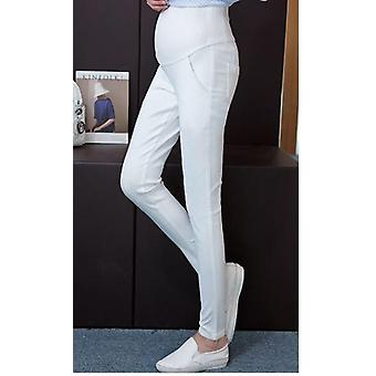 Pregnant Women Spring And Summer Loaded Thin Feet Pants