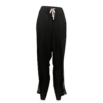 Cuddl Duds Women's Pajama Pants Pull On Black A398215
