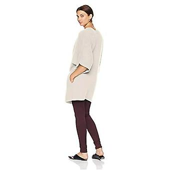 Lark & Ro Women's Oversized Drapey Open Cardigan Cashmere Sweater with Pocket...