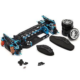 Aluminium Alloy & Carbon Shaft Drive, 4wd Touring Frame Kit For Tamiya