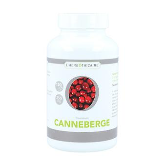 Berry cranberry 180 capsules of 250mg