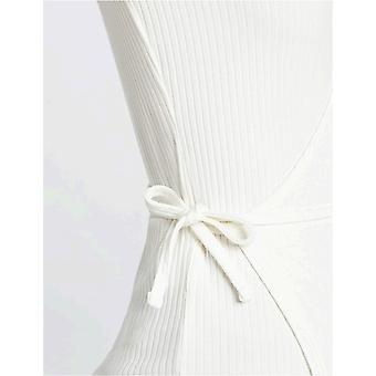 Brand - find. Women's Long Sleeve V-Neck Wrap T-Shirt