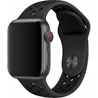 Apple Watch 42/44MM Strap Black - Sport Deluxe