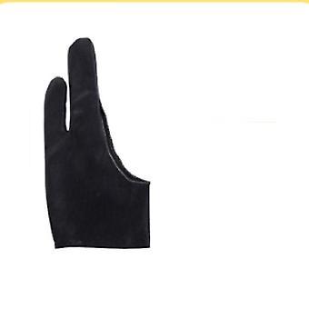 Картина Анти-фол перчатки Черный двух пальцев анти-абразии Профессиональный художник