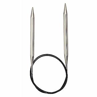 KnitPro Nova -kuutiot: Neuletappit: Pyöreä: Kiinteä: 60cm x 5.00mm