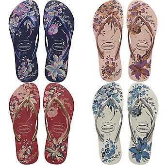 Havaianas Womens Slim Organic Casual Summer Beach Sandals Thongs Flip Flops