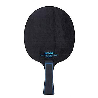 Long Grip Leichtfaser Tischtennis Klinge 7 Ply Tisch
